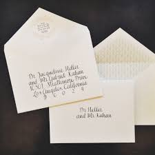 Wedding Invitation Envelopes Inner And Outer