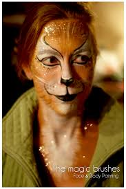 lion face painting full of great so it s perfect for night parties