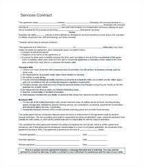 Cleaning Service Contract Example Cleaning Service Contract Sample ...