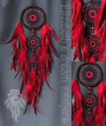 Golden Snitch Dream Catcher Dream catcher Dreamcatcher Black dreamcatcher Red feathers 47