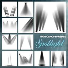 50 High Quality Light Spotlight Photoshop Brushes Pb Spotlight 2d Graphics Merchant Resources Atenais
