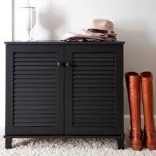 Storage Cabinet Wood Baxton Studio Coolidge Wood Shoe Storage Cabinet In Dark Brown