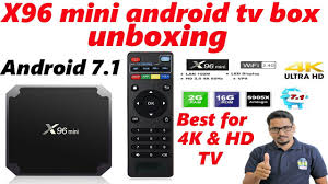 Hindi || x96 mini android tv box unboxing - YouTube