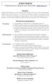Gallery Of Teacher Resume Sample Hire Me 101 Teacher Resume Format