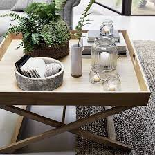 tray table decor home coffee tables