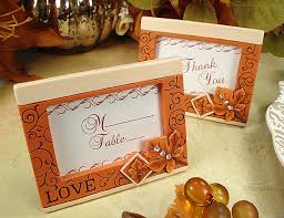Fall Place Cards 4308 Place Card Frame Fall Design