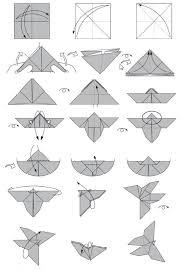 Vlinder Vouwen Lautasliinat Ja Paikkakortit Origami Crafts En