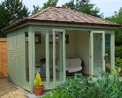 outdoor home office. the hanley hipped outdoor home office