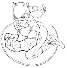 catwoman coloring page.  Page Coloring Pages Catwoman Printable For Kids U0026 Adults Free Throughout Catwoman Page E