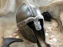 embossed nordic viking helmet
