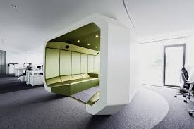 peaceful creative office space. Innocean Headquarters Europe, Office Interior By Ippolito Fleitz Group Peaceful Creative Space E