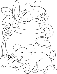 Small Picture Mouse playing hide n seek coloring pages Download Free Mouse