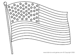 Small Picture American flag coloring page 4th of July Pinterest