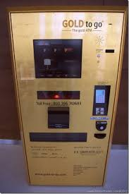 Gold Bar Vending Machine Dubai Mesmerizing Offbeat Images There's Gold In Them Thar Dubai ATMs Man On The