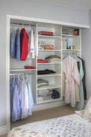 9 storage ideas for small closets having rods at diffe heights allows you hang