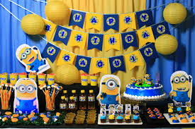 Minion Birthday Party Funny Minion Birthday Party Brithday And Wedding Ideas