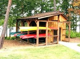 outdoor kayak storage shed outdoor kayak rack canoe storage freestanding garage plans free standing shed design outdoor kayak