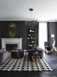 sophisticated dark living room design