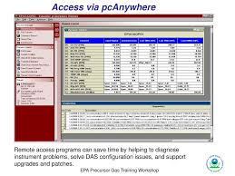 Data Acquisition Considerations In The Ncore Monitoring