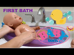 baby born emma 3 first bath and nap routine did she like her bath you