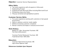 Resume Fast Food Cv Resume Examples