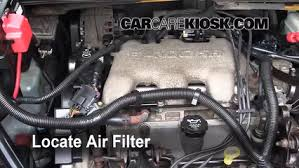 air filter how to 2002 2007 buick rendezvous 2005 buick air filter how to 2002 2007 buick rendezvous 2005 buick rendezvous cx 3 4l v6