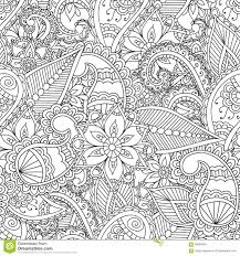 Small Picture Coloring Pages For Adults Stock Vector Image 69060693