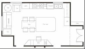 Commercial Kitchen Floor Plan Sample