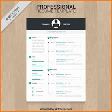 012 Contemporary Resume Templates Free Modern Template Download For