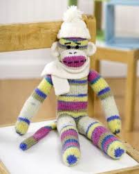 Sock Monkey Pattern Delectable Sock Monkey Knitting Pattern FaveCrafts