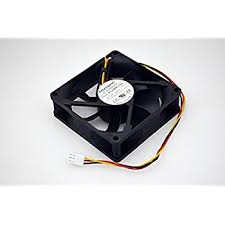 amazon com hp 12v dc 065a 80x25mm 3 wire fan pva080g12q this item hp 12v dc 065a 80x25mm 3 wire fan pva080g12q