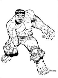 free printable hulk coloring pages for kids and inside