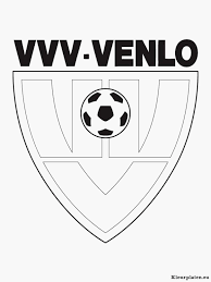 Kleurplaten Voetbal Logo Portret 6 Kleur Auto Kleurplaatspaginastore