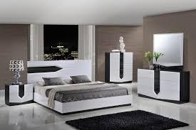 White or black furniture Tufted Global Furniture Hudson Platform Bedroom Set In Zebra Grey White 1stopbedrooms Global Furniture Usa Global Furniture Hudson Platform Bedroom Set In