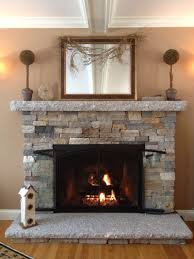remodel stone fireplace ideas with wood burning