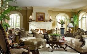 interior design living room traditional. Traditional Fireplace With Potted Palm Plants For Adorable Living Room Using Italian Interior Design Ornate Coffee Table