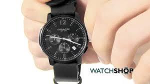 coach men s bleecker chronograph watch 14602021 coach men s bleecker chronograph watch 14602021