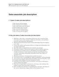 Sales Associate Job Description Resume Custom Resume For Sale Resume Of Sales Associate Job Description For Sales