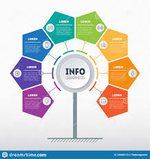 Business Presentation Or Info Graphics Concept With 8