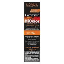 Loreal Red Hair Colour Chart Loreal Paris Excellence Hicolor Permanent Hair Color Deep Violet