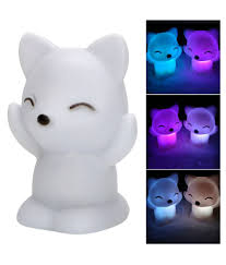 Led Fox Light Price Lovely Fox Shape Led Night Light Decoration Lamp 7 Changing