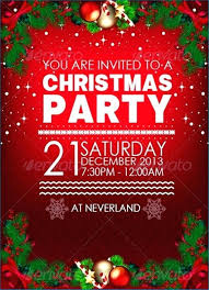 Sample Of Christmas Party Invitation Christmas Invitation Template Word Potluck Wording Samples