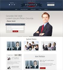 12 Campaign Website Themes Templates Free Premium