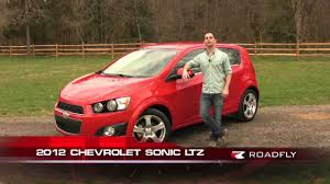 Chevrolet Sonic LTZ 2012 Test Drive & Car Review with Ross ...