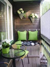 decorate your apartment balcony with