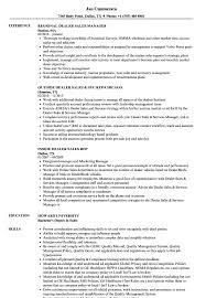 Dealer Sales Resume Samples | Velvet Jobs