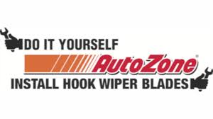 How To Remove Install J Hook Wiper Blades Autozone How