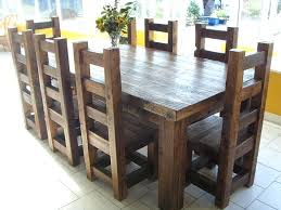 solid wood dining table sets reclaimed solid wood dining table and chairs use j k to navigate