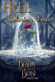 Small Picture FREE Printable Beauty and the Beast Coloring Pages Activity
