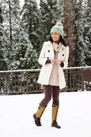stylishlyme cute snow outfit